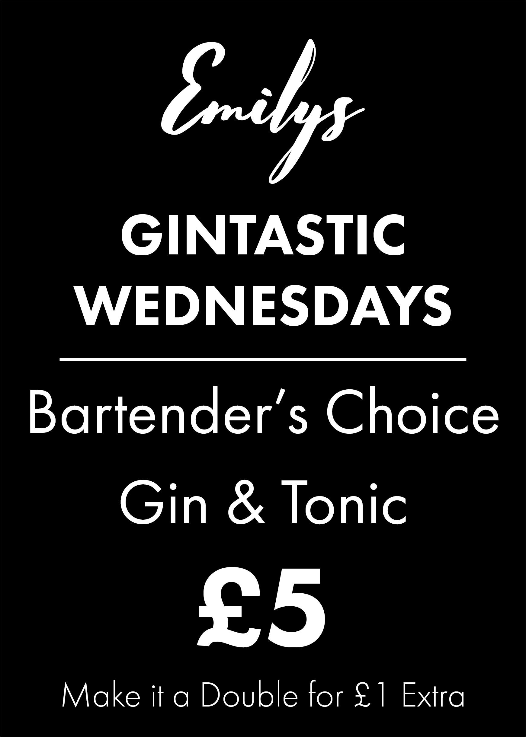 Gintastic Wednesdays