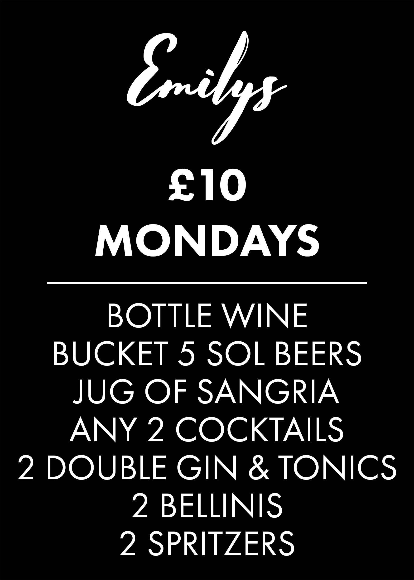 £10 Mondays